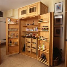 ...and on the 8th day, a totally awesome pantry was created.......by Mutfak Dolaplari