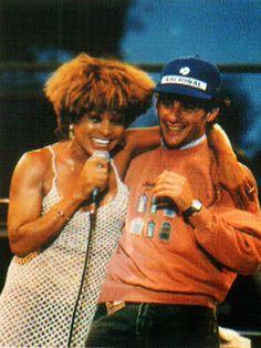 Ayrton Senna: Ayrton Senna e Tina Turner: música Simply The Best, Austrália 1993 Reportagens EM CONSTRUÇÃO