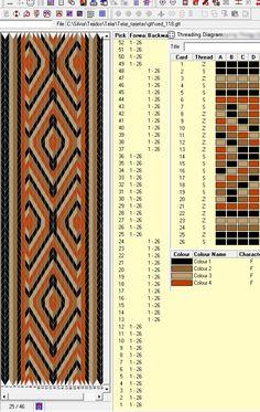 16 tarjetas, 4 colores, alterna 12F-12B // sed_118 ༺❁