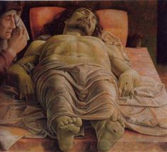 'The Dead Christ' by Mantegna