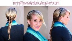 Great blog full of awesome hairstyle ideas. Want to learn the fishtail braid.