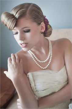 retro hairstyles for your wedding or next soiree