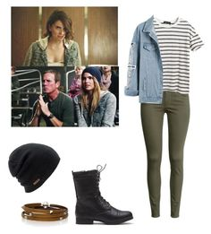 """""""Malia tate inspired"""" by shadyannon ❤ liked on Polyvore featuring Coal, H&M, Chicnova Fashion and Sif Jakobs Jewellery"""