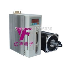 605.00$  Watch now - http://alip88.worldwells.pw/go.php?t=32691677609 - 2 set /lot 80ST-M04025 220v 4 N.m/A 2500rpm  AC SERVO MOTOR 4N.M 1000W WITH DRIVER AND CABLE 605.00$