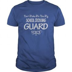 School Crossing Guard Voice T Shirts, Hoodies, Sweatshirts. CHECK PRICE ==► https://www.sunfrog.com/Jobs/School-Crossing-Guard-Voice-Shirts-Royal-Blue-Guys.html?41382