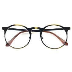 1920s Vintage eyeglasses oliver retro 13R0 Antique Gold eyewear frames rubyruby #Unbranded #Round