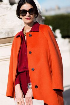 Street Style: Red Hot Coats