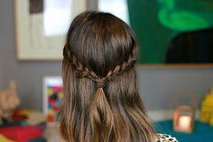 Cabelo Meio Preso com Trança Embutida | All Things Hair | Juliana Goes