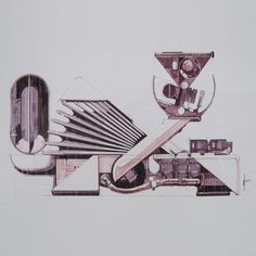 Syd Mead Voight-Kampff sketch