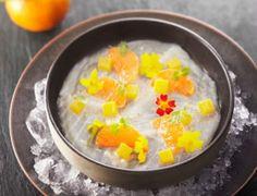 Carpaccio de dorade à la clémentine de Corse en aigre-douce sur glaceDécouvrez la recette du carpaccio de dorade à la clémentine de Corse en aigre-douce sur glace.