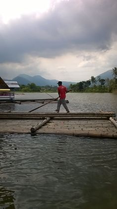 On the way to Cangkuang Temple, Garut, West Java, Indonesia