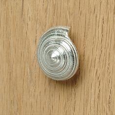 rustic cast iron seashell shell knob decorative dresser drawer