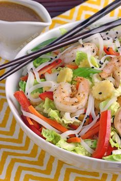 Asian Shrimnp Salad