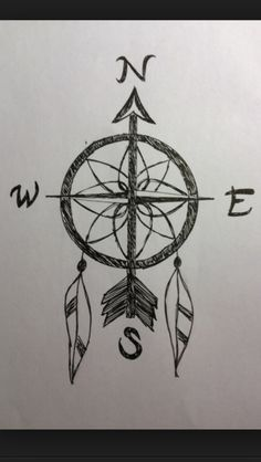 Dream catcher compass