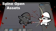Spine Open Assets is a new place to get hd graphics for your games. https://gumroad.com/take10animation