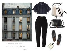 """""""Untitled #206"""" by sweetlikecinnamonnn ❤ liked on Polyvore featuring Opening Ceremony, Prada, Church's, Elite and Montblanc"""