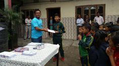 Students Scholarship Prize Distribution Function at Green Lawn School Soureni Bazar in Mirik by Minervaa.   #minervaa #students #scholarship #educationprize #school #misexam