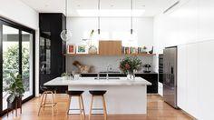 a Balmain family transforms their dated kitchen into a modern wonder