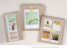 instagram photos & washi tape  © Mandy Lynne
