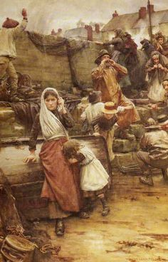 Walter Langley - Disaster - date?