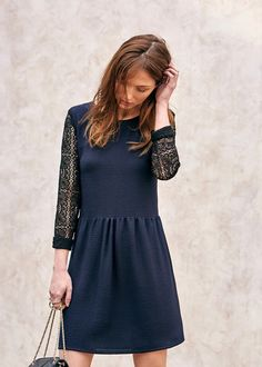 Work Fashion, Fashion Beauty, Fashion Outfits, Robe Baby Doll, Street Style Shop, Diy Mode, Couture, Parisian Style, Mode Inspiration