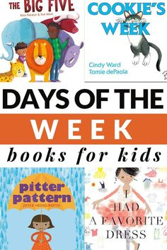 Use these days of the week books for kids to learn about the sequence of days from Sunday to Saturday. Includes a printable book list. #booksforkids #daysoftheweek #GrowingBookbyBook