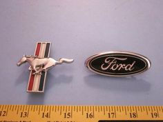 Ford Mustang Factory Body Emblems