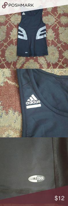 Adidas techfit workout top Black clima cool work out tank top. Adidas Shirts Tank Tops