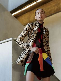 awesome Xiaomeng Huang por Liu Song para Vogue China Novembro 2014  [Editorial]