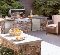 Cuisine d'extérieur, cuisine de plein air pour profiter de l'été !