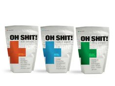 Packaging of the World: Creative Package Design Archive and Gallery: Oh Shit Kits
