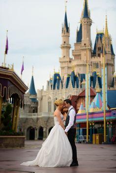 Fantasy and love fill the air at Disney's Magic Kingdom. Photo: Beth, Disney Fine Art Photography