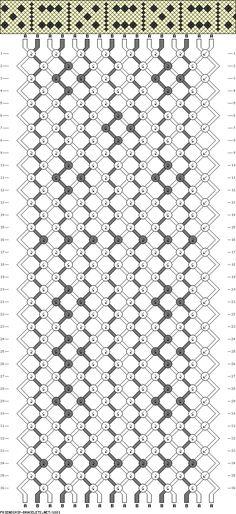 16 strings 36 rows 2 colors