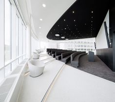 Considered One of the Best Workspaces in Europe: Eneco Headquarters in Rotterdam - http://freshome.com/2012/12/04/considered-one-of-the-best-workspaces-in-europe-eneco-headquarter-in-rotterdam/