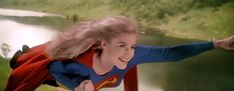 As NBC develops the new Supergirl TV show, we look back at the movie that pretty much destroyed her character. Helen Slater Supergirl, Supergirl 1984, Supergirl Movie, Super Movie, Dc Comics Heroes, Captain Marvel, American Actress, Superman, Movie Tv