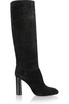53c5faf9fa5a Lanvin - Suede knee boots