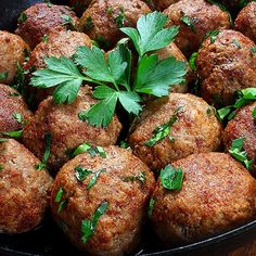 This flavorful meatball recipe goes to all of you enduring the cold this weekend - stay warm!