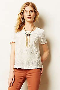 Anthropologie - Alsace Tee