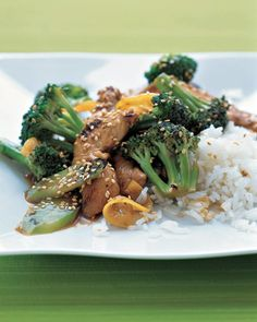 Chicken, Broccoli, and Lemon Stir-Fry