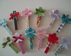 Pregadores decorados Easy Diy Crafts, Handmade Crafts, Craft Gifts, Diy Gifts, Decorated Clothes Pins, Paperclip Crafts, Popsicle Art, College Crafts, Clothespin Art
