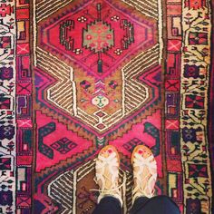 It's well-understood that I have a cool rug fetish.