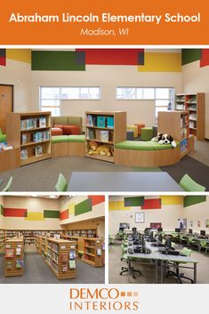 get library decorating ideas for your school. see how an