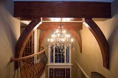 Craftsman Home Ceiling Detail in Front Entry | Plan 013S-0010 | House Plans and More