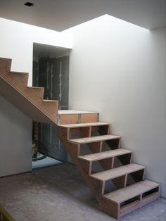 Stairs, lightwell