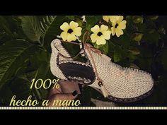BOTIN MODELO FELIDIA TEJIDO EN CROCHET - YouTube
