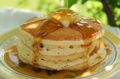 In the Kitchen with Jenny: Gma's Featherlight Pancakes #pancakes