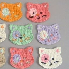 Design Inspiration-  use as pot holders with quilted backing or perhaps the body of a little girl's purse