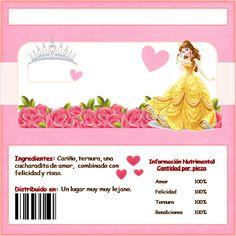 Bella: Etiquetas de Chocolate para Imprimir Gratis.