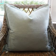 Ice Scatter Cushion with Oxford Edge Available including or excluding feather and down inner and in various sizes Cotton, Linen - Cold Wash Lead time +- Scatter Cushions, Throw Pillows, Indoor, Boutique, Interior, Toss Pillows, Decorative Pillows, Decor Pillows