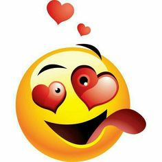 f you are head over heels about someone special, this is the right smiley for you to share with them. Smiley Emoji, Smiley T Shirt, Funny Emoji Faces, Emoticon Faces, Emoticon Love, Smiley Faces, Love Smiley, Emoji Love, Animated Emoticons